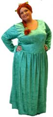 Princess Fiona Costume Plus Size